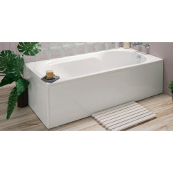 Pack baignoire balnéo Kando 170 x 75 cm + 1 tablier Clip's (180 cm) - Essentia - ALLIBERT