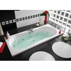 Pack baignoire balnéo Inoa 170 x 80 cm + 1 tablier Clip's (180 cm) - Intensea - ALLIBERT