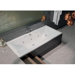 Baignoire balnéo Square - 170 x 75 cm - Intensea - ALLIBERT